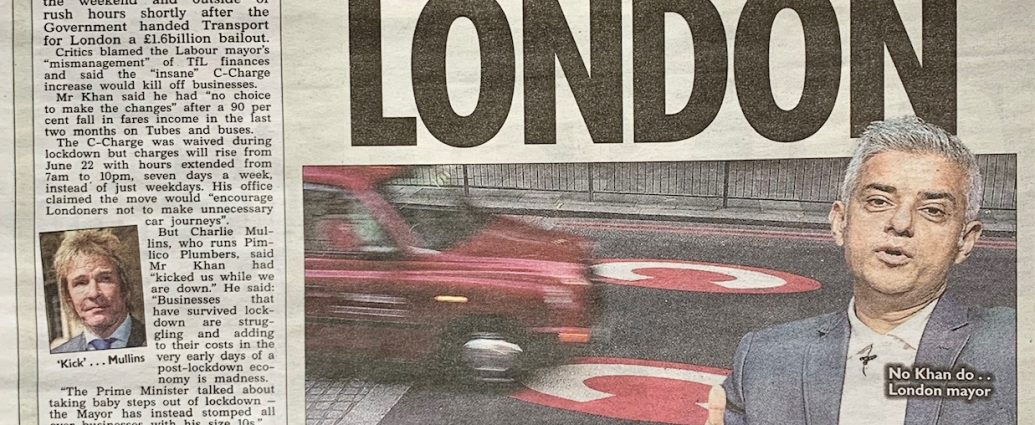 The Sun Covers the Congestion Charge Hile